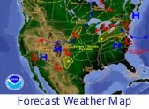 Forecast Weather Map