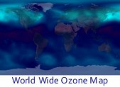 World Wide Daily Ozone Map