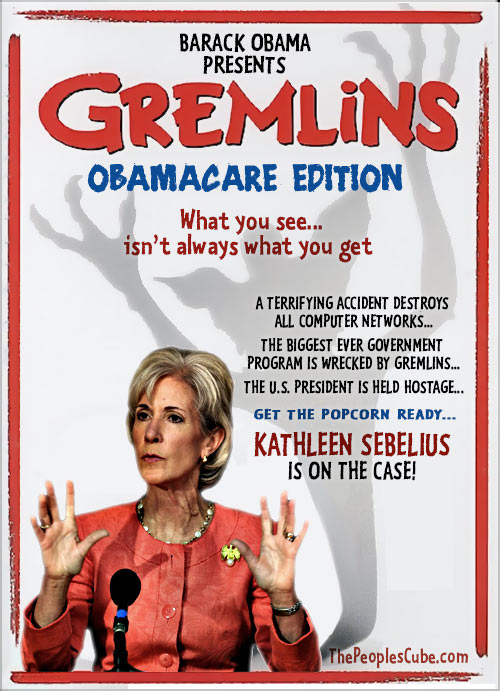 Sebelius_Obamacare_Gremlins_Movie_Poster