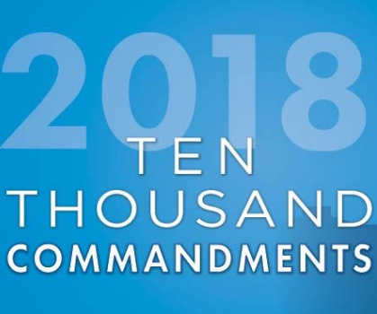 How Much 10,000 Commandments 2018 Cost You
