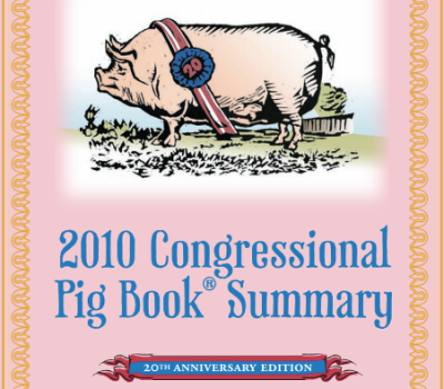 Report: 2018 Pig Book Detailing Government Waste Released
