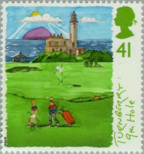 ::postage stamp history:Turnberry 9th hole 41 1994 UK.jpg
