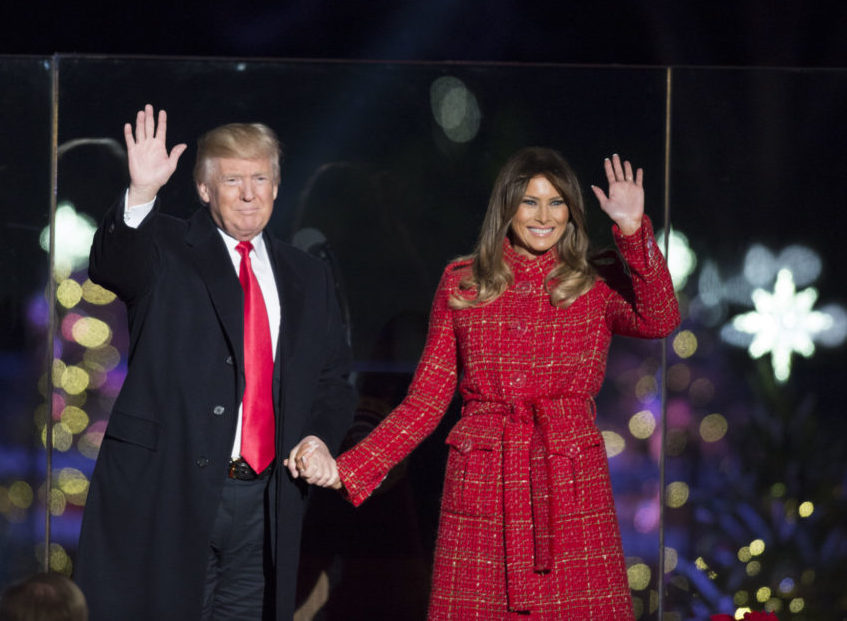 ::TRump jpg:Trump Melania 2017xi30  tree lighting.jpg