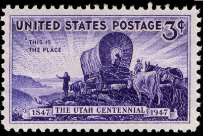 ::Utah legalizes Prostitution:3 Utah 1847- 1947_U.S._stamp.1.jpg